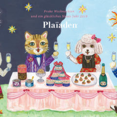 PLAIADEN greeting card