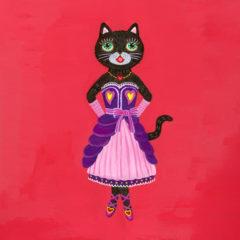 "7cats with lucky motifs ""Heart"""